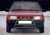Кенгурятник крашенный молотковый на ВАЗ 2109 1987-2011