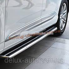Боковые площадки V3 на Audi Q3 2011+ гг.