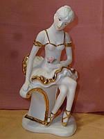Балерина декоративная фарфоровая статуэтка фигурка 20 сантиметров высота