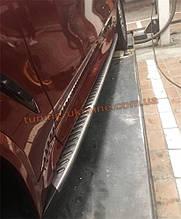Боковые подножки оригинал на BMW X3 G01 2018+