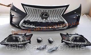 Комплект обвеса без оптики для Lexus RX 2012-2015 гг.