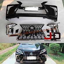 Комплект обвеса без оптики в стиле TRD 2018года для Lexus RX 2012-2015 гг.