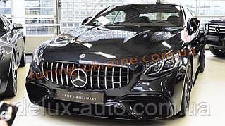 Решетка радиатора Brabus style 2019 гг на Mercedes S-klass W222 2013-2018