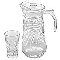 Набор стаканы/графин 7пр/наб 250мл 1.5л R85870