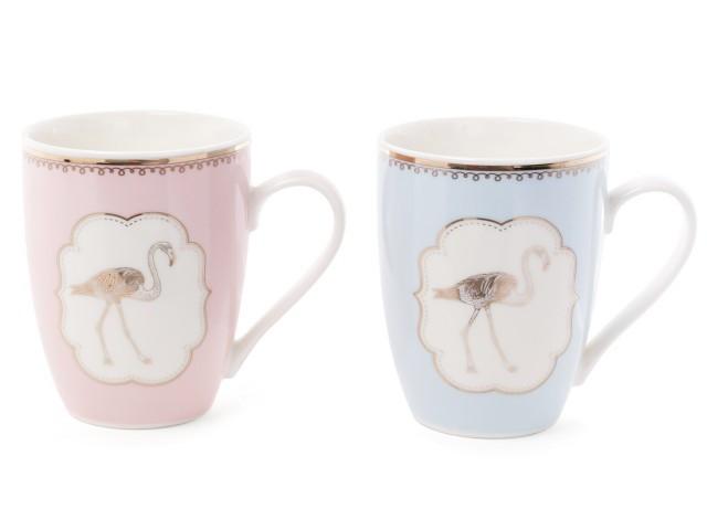"""Чашка Bona Di 958-514 """"Фламинго"""" 320 мл"""