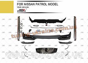 Комплект обвесов V2 для Nissan Patrol Y62 2015+ год.