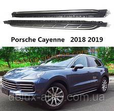 Оригинальные площадки на Porsche Cayenne 2018 гг.