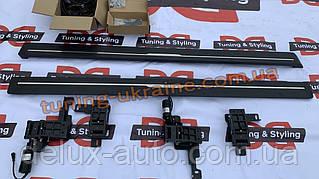 Боковые площадки с выездным механизмом на Range Rover Evoque 2012+гг.