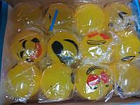 Лизун-бомба смайлик желтый