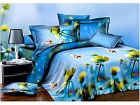 Комплект постельного белья Classi Сатин Печатный 2 Сп. 200Х220 (Нав. 70Х70) микрофибра.