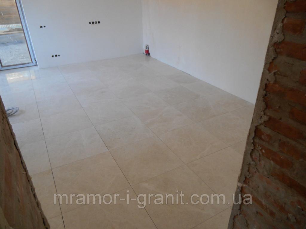 Укладка мраморной плитки Crema Mare 2