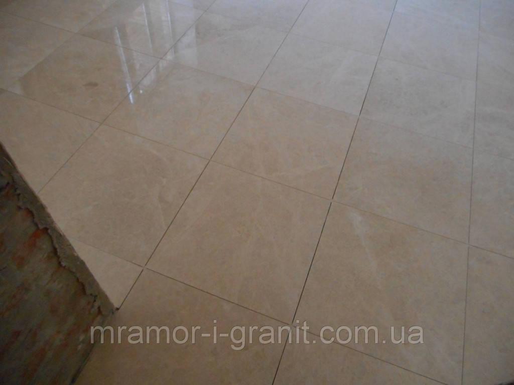Укладка мраморной плитки Crema Mare 3