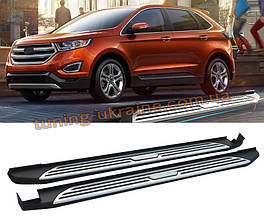 Оригинальные подножки V1 на Ford Edge 2014+