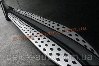 Боковые площадки Оригинальный дизайн на Mercedes GL klass X164 2006-2012