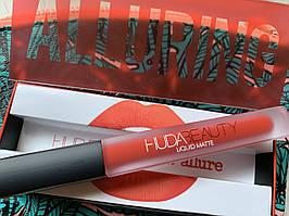 Стойкая матовая помада HUDA BEAUTY liquid matte lipstick