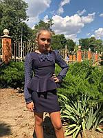 Школьные подростковые платья для девочек, фото 1