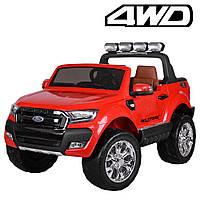 Детский двухместный электромобиль Ford Ranger, M 3573EBLR-3 красный