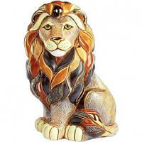 Фигурка De Rosa Rinconada Emerald Лев - Царь Зверей (сидя) Dr1008-44