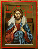 """Икона Иисуса Христа """"Добрый пастырь""""."""