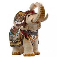 Фигурка De Rosa Rinconada Large Wildlife Слон Индийский Белый (лим.вып. 2000 шт) Dr457-21