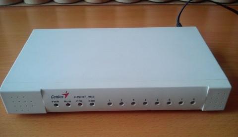 Коммутатор Genius GH4080SE 8-port switch, бу