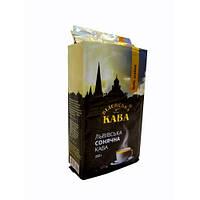 Кофе молотый Віденська кава Сонячна Арабика 0,25кг