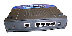 Маршрутизатор LINKSYS  BEFSX41, бу
