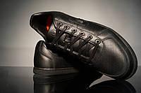 Мужские кроссовки чёрные Firetrap Dr Boyd , фото 1