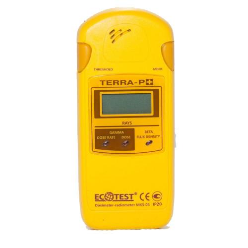 Бытовой дозиметр-радиометр МКС-05 ТЕРРА-П плюс