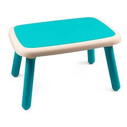 Стол детский пластиковый Smoby Kid, голубой 18м+ (880402)