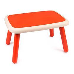 Стол детский пластиковый Smoby Kid, красный, 18м+ (880403)