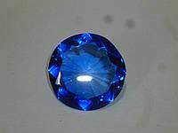 Декоративный кристалл фен шуй синий 5 сантиметров диаметр