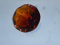 Декоративный кристалл фен шуй коричневый 3,7 сантиметров диаметр