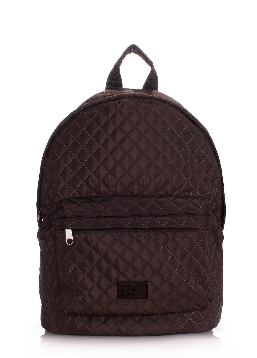 Рюкзак молодежный PoolParty коричневый