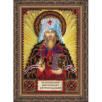"""Набор для вышивки бисером """"Икона Святой Вениамин"""""""