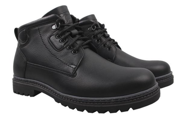 Ботинки Tonkelli натуральная кожа, цвет черный