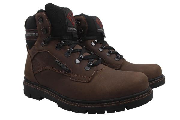 Ботинки Brave нубук, цвет коричневый