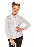 Блузка детская школьная Джованна (8-12 лет), фото 2