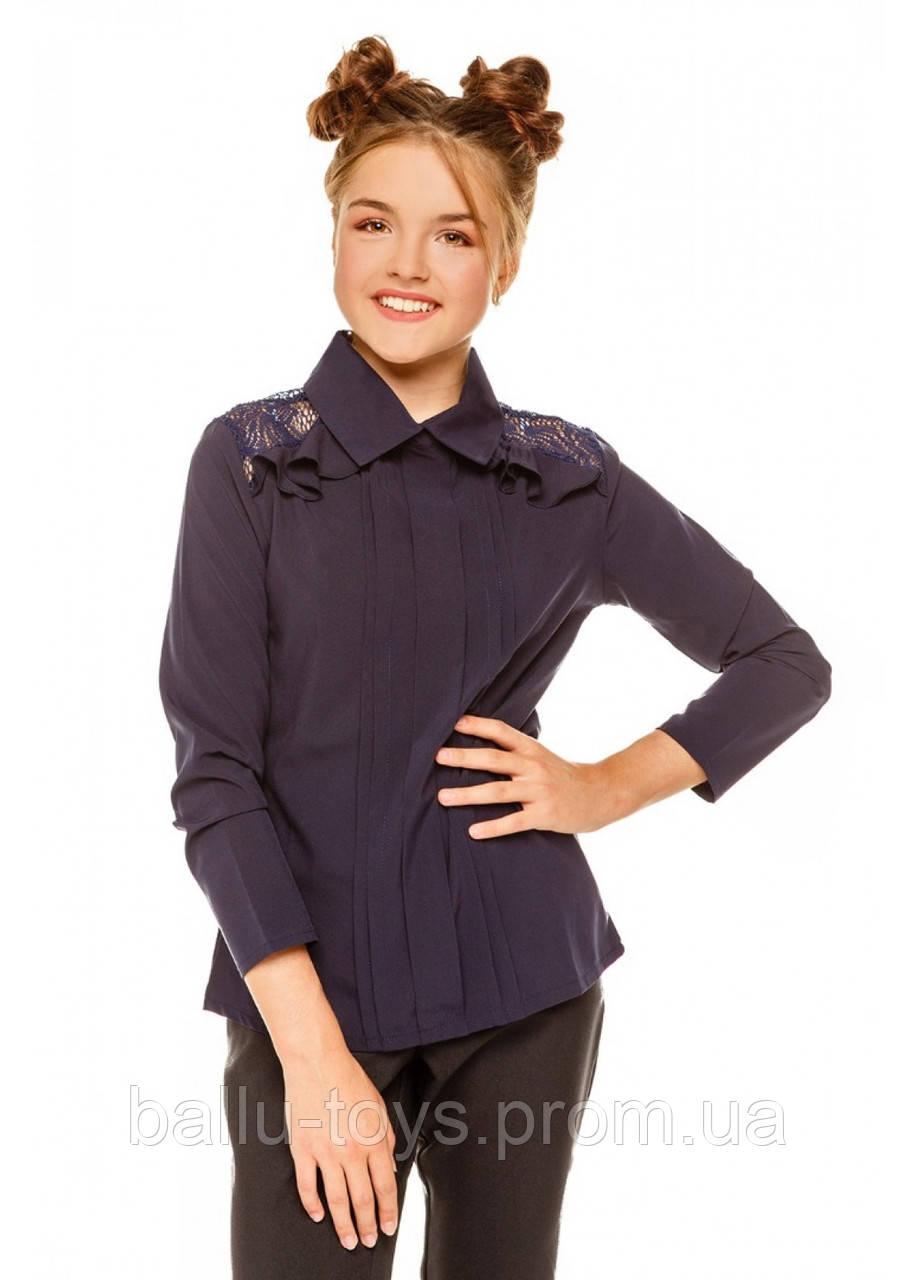 Блузка детская школьная Джованна (8-12 лет)