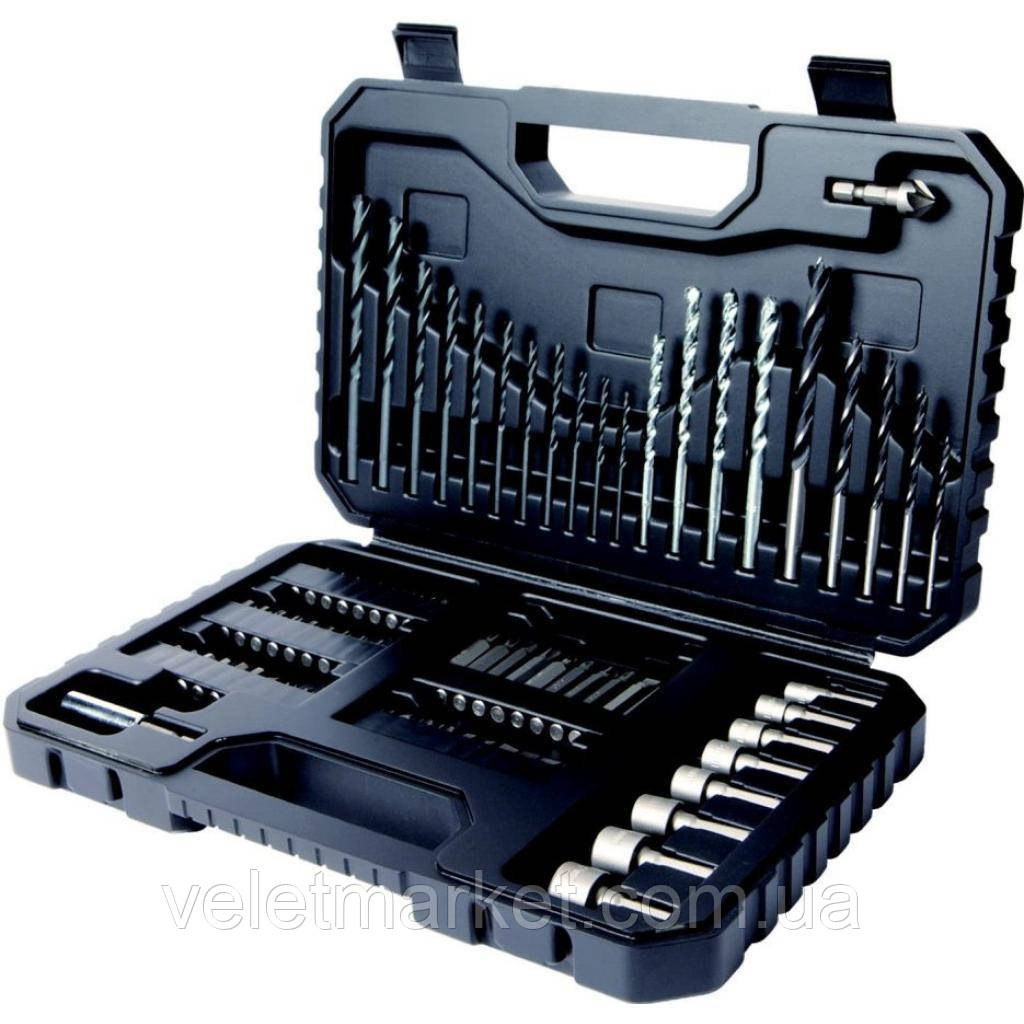 Набор инструментов BLACK&DECKER биты, головки, сверла 80 предм. (A7219)