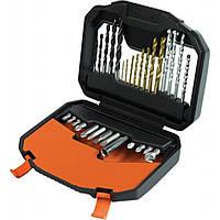 Набор инструментов BLACK&DECKER биты, сверла 30 предм. (A7183)