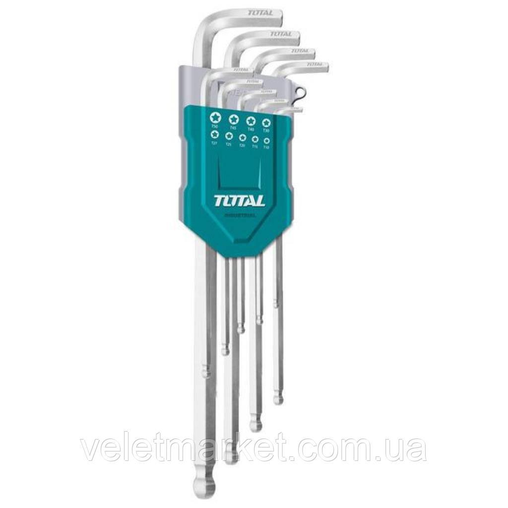 Набор инструментов TOTAL ключей шестигранных 9шт. (THT106291)