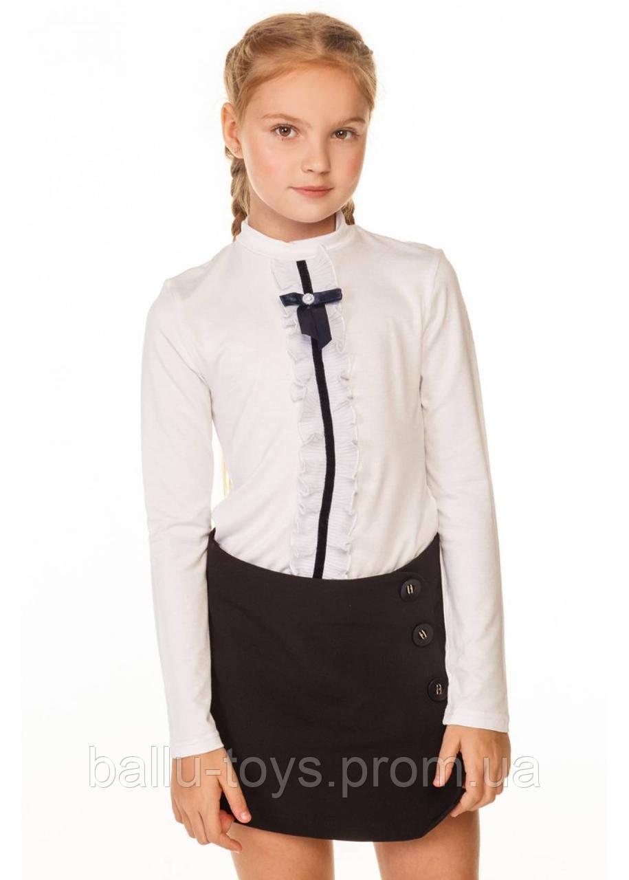 Школьная блуза на девочку Лира (6-10 лет)