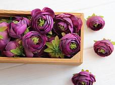 Ранункулюс бутон ,     темно -фиолетовый                100 шт