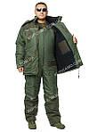Теплый зимний костюм для рыбаков и охотников  -30, фото 4