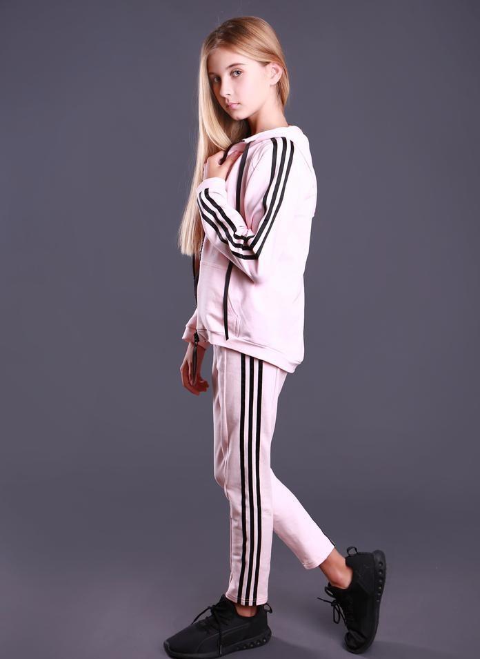 Розовый спортивный костюм ТМ МОНЕ р-ры 152