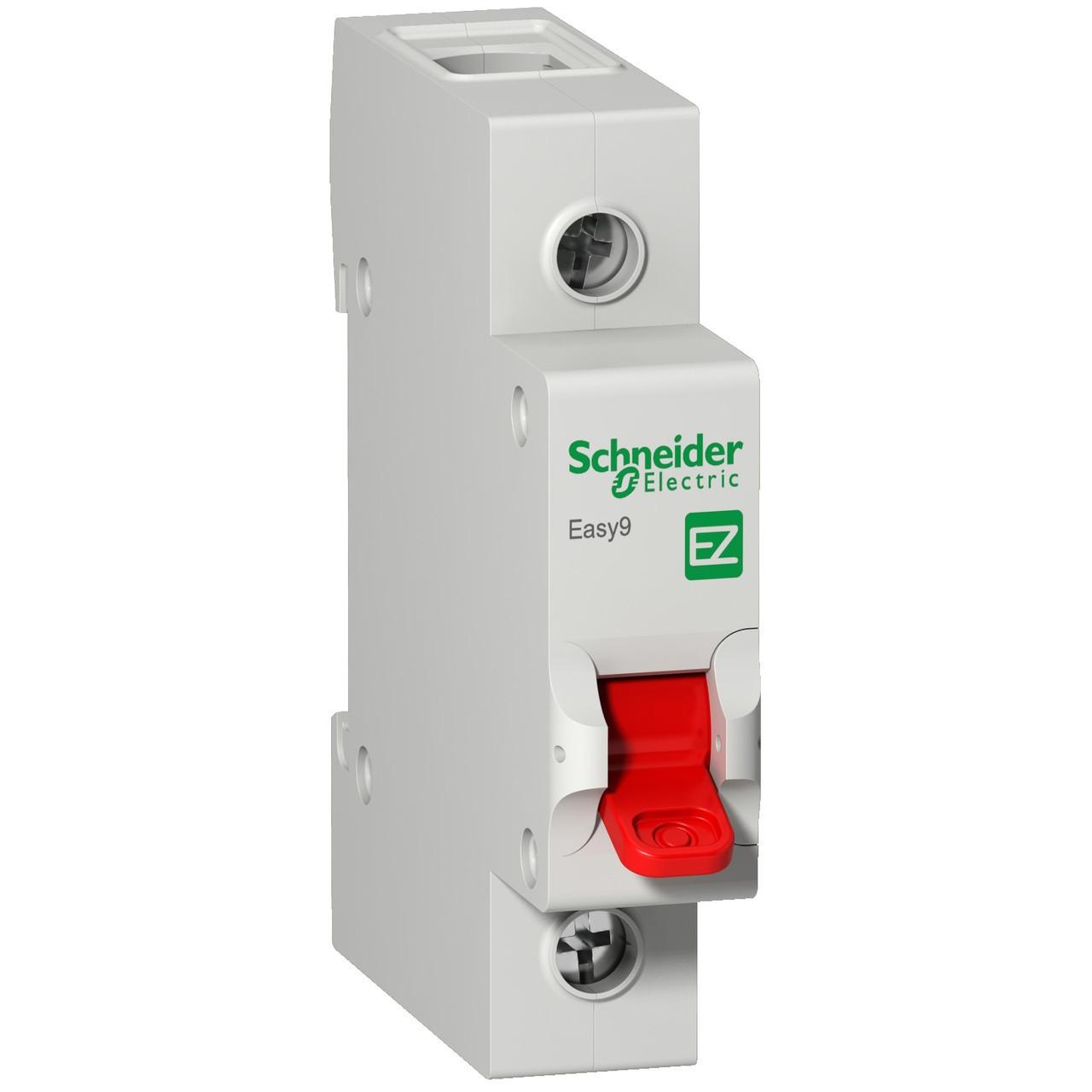 Выключатель нагрузки EZ9S16180 Easy9 Schneider 1П 80A 230В