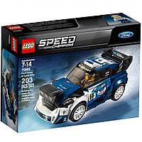 Конструктор LEGO Автомобиль Ford Fiesta M-Sport WRC (75885)