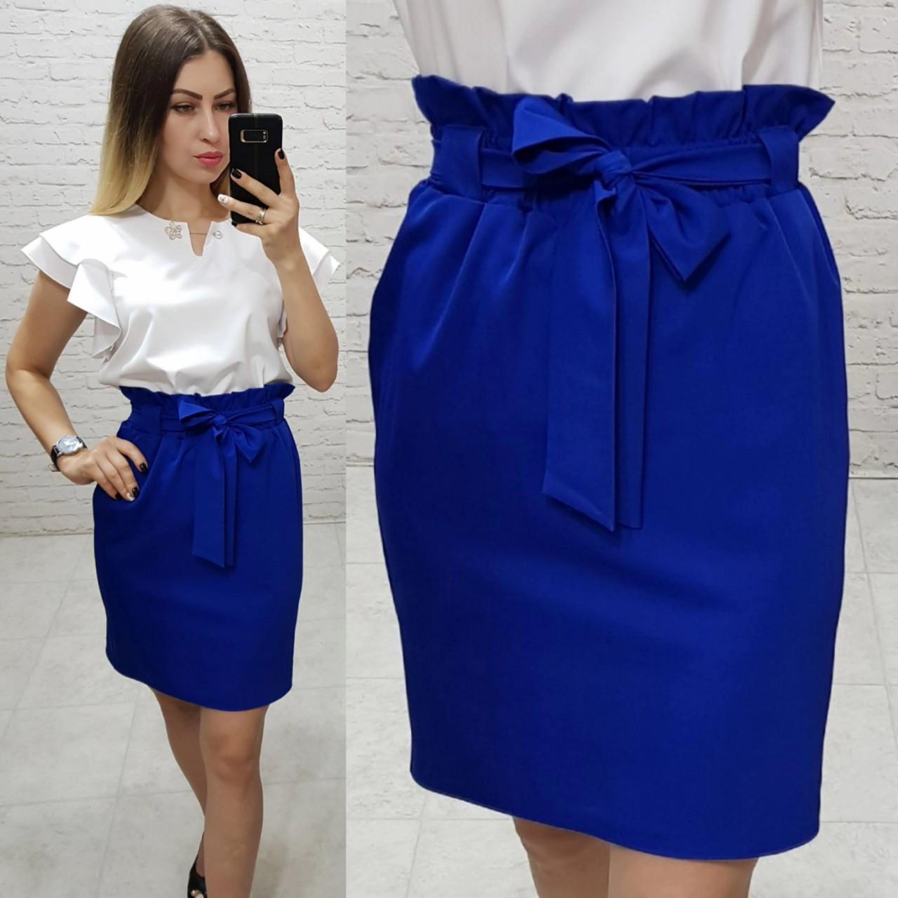 Купить синюю ткань на юбку кожаный шнур натуральный