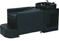 Лежачая парикмахерская мойка с глубокой раковиной, удобным горизонтальным креслом и подставкой для ног SP2208